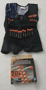 NERF LOT- VEST & 18 Ultra DARTS. New open box