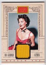 2013 Panini Golden Age - Museum Age Memorabilia - Ava Gardner - Actress