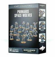 Games Workshop Warhammer 40k Start Collecting Primaris Space Wolves Boxed Set