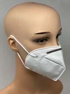 2 Stück KN95 Atemschutzmaske versiegelt wieder verwendbar ähnlich FFP2
