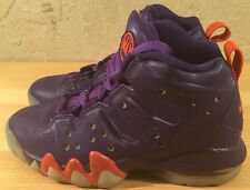 Preowned Nike Air Max Barkley 488245-500 Youth Purple/Orange Size 4Y
