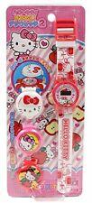 Hello Kitty watch white dress-digital 2 children fromJAPAN