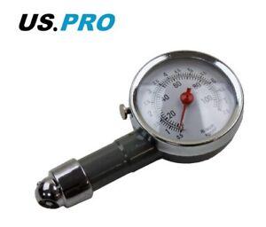 PROFESSIONAL TYRE PRESSURE GAUGE AIR MEASUREMENT PSI/BAR 8815