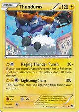 Thundurus 33/111 XY Furious Fists RARE MINT! Pokemon