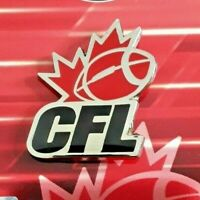 CFL Canadian Football League Team Logo Official Licensed Metal Pin
