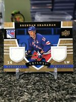 2008-09 Trilogy Honorary Swatches Brendan Shanahan Dual Game Patch SP Rangers!!!