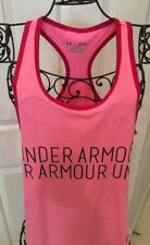 UNDER ARMOUR Girls youth Heat Gear Loose Tank Top Size YL