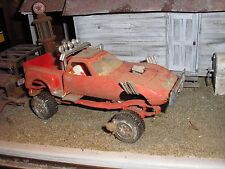 1/24 Vintage 1960's Custom Buick Opel Mudder 4x4 Pickup Truck 4 Junkyard diorama
