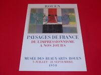 [Coll. R-JEAN MOULIN ART XXe] JACQUES VILLON / PAYSAGES FR EO 1958 LITHO MOURLOT