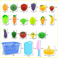4-15PCS Pretend Role Play Kitchen Fruit Vegetable Food Toy Cutting Set Kids2