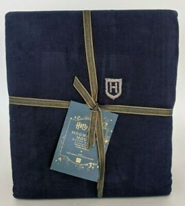 NWT Pottery Barn PB Teen Harry Potter Hogwarts House King duvet cover, nox navy
