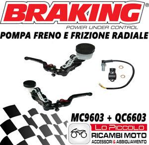 APRILIA RSV RSV4 1000 MC9603 +QC6603 Pump Brake & Clutch Radial BRAKING