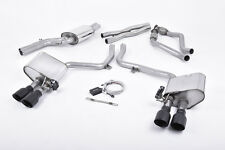 MILLTEK Cat Back ValveSonic Valved Exhaust System SSXAU406 Audi S4 3.0 V6 B8.5