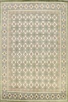 All-Over Vegetable Dye Ivory Khotan Oriental Area Rug Wool Hand-knotted 8x10 New