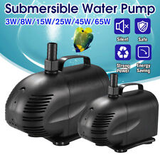 220V Submersible Water  Fish Tank Aquarium Pond Fountain Spout Feature  ∝ d
