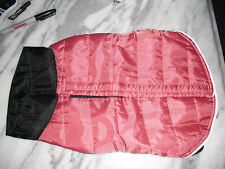 New listing Dog pet apparel outwear jacket size S color dark pink new