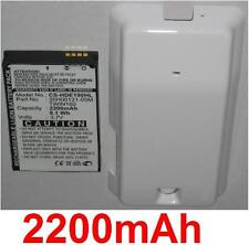 Coque Blanche + Batterie 2200mAh Pour HTC Hero