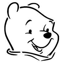 Winnie The Pooh vinyl car Decal / Sticker