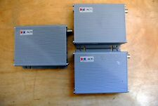 Lot Of 3 Acti Acd 300 1 Channel Mpeg 4 Video Decoder Security Surveillance Used