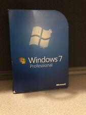Microsoft Windows 7 Professional Full Install Retail Version 32&64 Bit CP