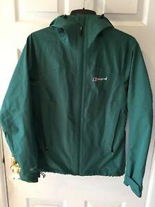 Berghaus womens hooded Gore-tex jacket green size 10