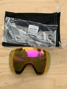 Giro Onset Goggle Spare Lens - Amber Pink S2 Zeiss Lens