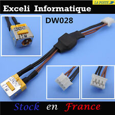 Connecteur alimentaion dc jack socket cable wire dw028 Acer EMachines E510
