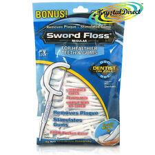 Dentemp Sword Floss Disposable Daily Tooth Dental Floss & Picks Regular 50 ea