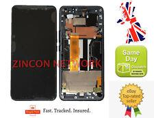 NEW HTC U11 PLUS U11+ LCD DISPLAY+TOUCH SCREEN DIGITIZER ASSEMBLY BLACK W FRAME