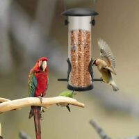 Squirrel Proof Bird Feeder Hanging Cage Seed Food Outdoor Small Wild Garden Yard