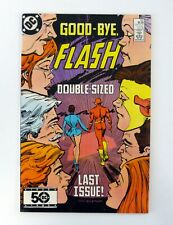 FLASH #350 DC Comics Last Issue NM 1985