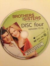 Brothers And Sisters - Season 1- Disc 4 ( DVD) DVD Disc Only - Replacement Disc