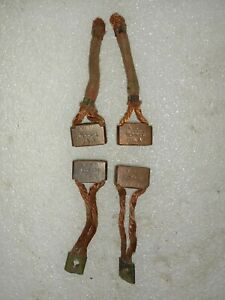 Jeep Willys Mb Ford Gpw ww2 G503 NOS Starter Motor Brush Set Ford Marked