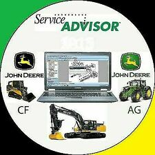 JOHN DEERE Service Advisor 5.2 CF & AG Unlocked for Multi PC's