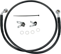 Drag Specialties Extended Stainless Steel Front Brake Line Kit 1741-2529