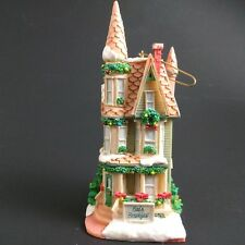 Carlton Cards Ornament Christmas Town Inn Bed and Breakfast Victorian 1997