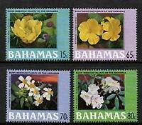 FLOWERS > BAHAMAS 2000 BUSH MEDICINAL PLANTS  MNH SET 4  [#2736]