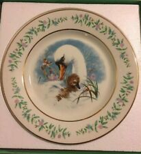 Vtg Collectible Plate Avon White Swan Gentle Moments Mom & Baby, Ugly Duckling