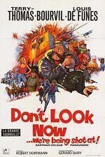 LA GRANDE VADROUILLE one sheet movie poster 27x41 LOUIS DE FUNES BOURVIL NM