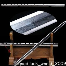 Hand Forged Pattern Steel Sword with Chinese Musical Instruments Flute Sharp #54
