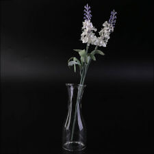 Transparent Glass Vase Modern Fashion Dining Table Office Table Small Vase GA
