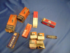 11 RCA Radio tubes Misc Lot of Vintage NOS Electronic Repair General Electric TV
