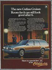 1984 OLDSMOBILE CUTLASS wagon advertisement, Olds Cutlass ad, station wagon