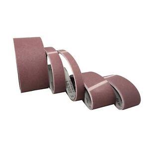 5 x Klingspor Gewebe Schleifband Schleifbänder 50x1020 50x2000 50x1500 uvm Korn