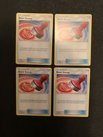 x4 Reset Stamp 206/236 - Pokemon Unified Minds 4 Card Lot - Trainer Playset