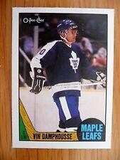 1987-88 OPC #243 VIN DAMPHOUSSE RC MAPLE LEAFS NM-MT