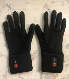 Heated Gloves for Men Women,Rechargeable Heated Skiing,Snowboarding Gloves M