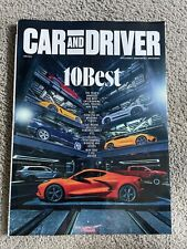 NEW Car & Driver Magazine (January 2021) THE 10 BEST CARS FOR 2021