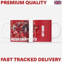 Personalised Liverpool Champions Of England 2019/2020 Mug Gift Souvenir - LFC