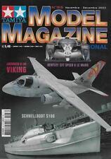 MODEL MAGAZINE N° 66 / LOCKHEED S-3B VIKING - BENTLEY EXT SPEED 8 LE MANS